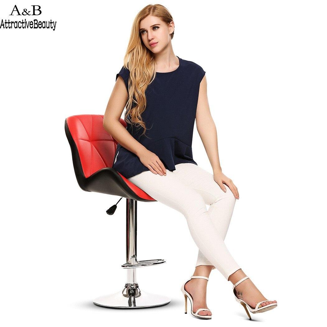 Homdox Modern Swivel Bar Stool Chair Home Kitchen Adjustable Lift Chair N40*
