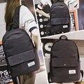 Япония и Южная Корея версия ранцы женская сумка небольшой свежий высокой средней школы рюкзак холст мешок компьютера