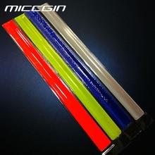 ФОТО miccgin running fishing cycling reflective strips warning bike safety bicycle bind pants leg strap reflective tape