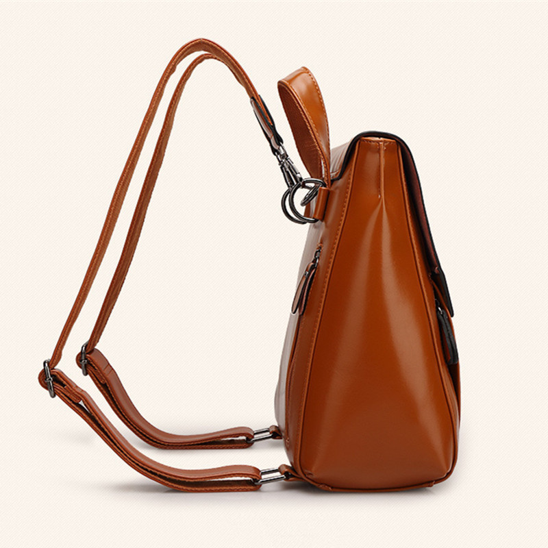 Online Shop 2015 Autumn women vintage bag genuine leather backpack ...
