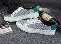 Fashion Uomo Scarpe Flats men white men shoes zapatilla cocodrilo Split Leather Breathable Deodorization  3 colors, 39-47 size