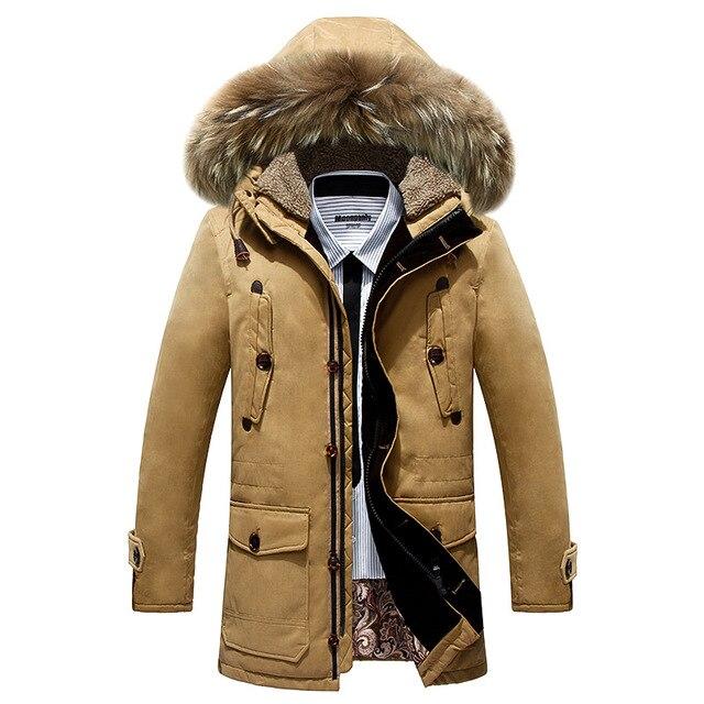Por la chaqueta, chaqueta de invierno para hombre Parka