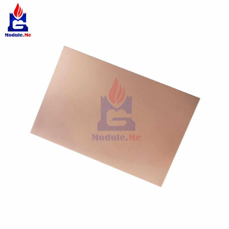 75 × 100 × 1.5 ミリメートル FR4 銅張積層板シート回路両面 PCB 10 × 7.5 センチメートル