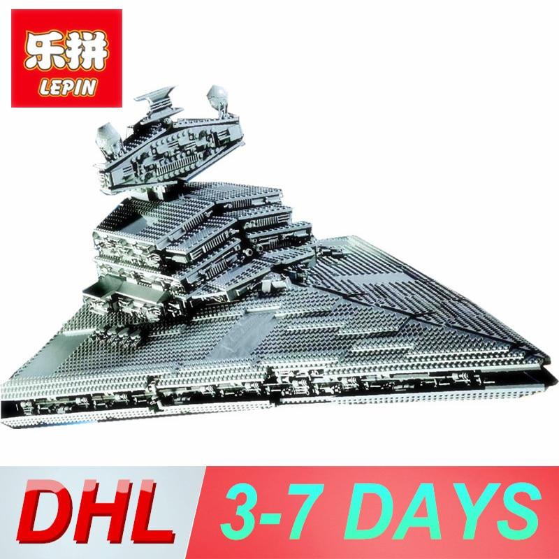 Lepin 05027 05028 Emperor Fighters Star Ship Star Wars Building Blocks Brick Educational Children Toys vs legoing 10030 10221 8 in 1 military ship building blocks toys for boys