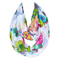 2016 New Style Print Flowers Voile chiffon Womens Scarfs Fashionable Hot Sale Warm Winter Blanket Ladies Scarves