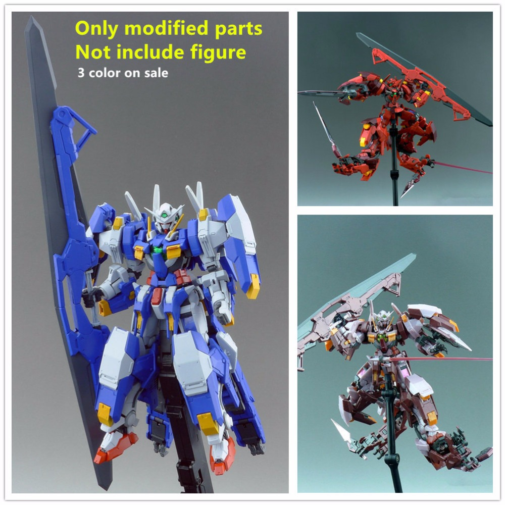 Effectswings Avalanche modified parts for Bandai RG 1 144 GN 001 Exia TRANS AM or GNY