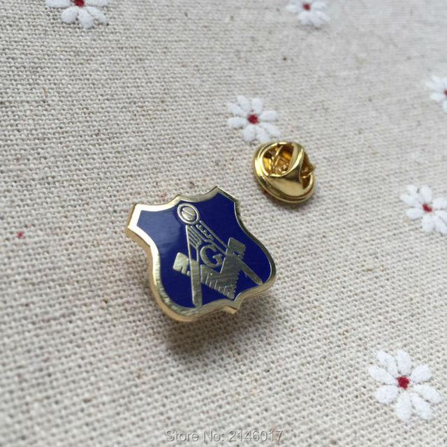 100pcs Blue Lodge Square and Compass with G Masonic Regalia Lapel Pin for  Freemason Fellow Gifts Free Masons Enamel Pins Badge 99159c0c85af