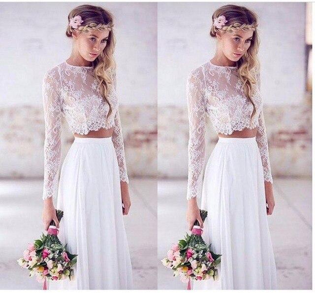 Белый топ и длинная юбка