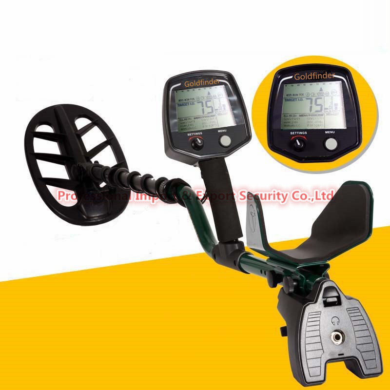 Professional Deep Search Metal Detector Goldfinder Underground Gold High Sensitivity and LCD Display Metal Detector Finder professional deep search metal detector md6350 underground gold high sensitivity and lcd display metal detector finder