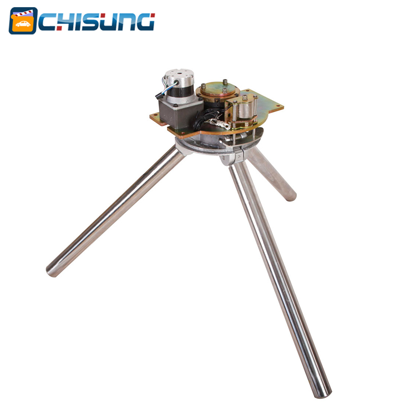 Brushless DC motor Full Automatic Tripod Turnstile Gate Mechanism