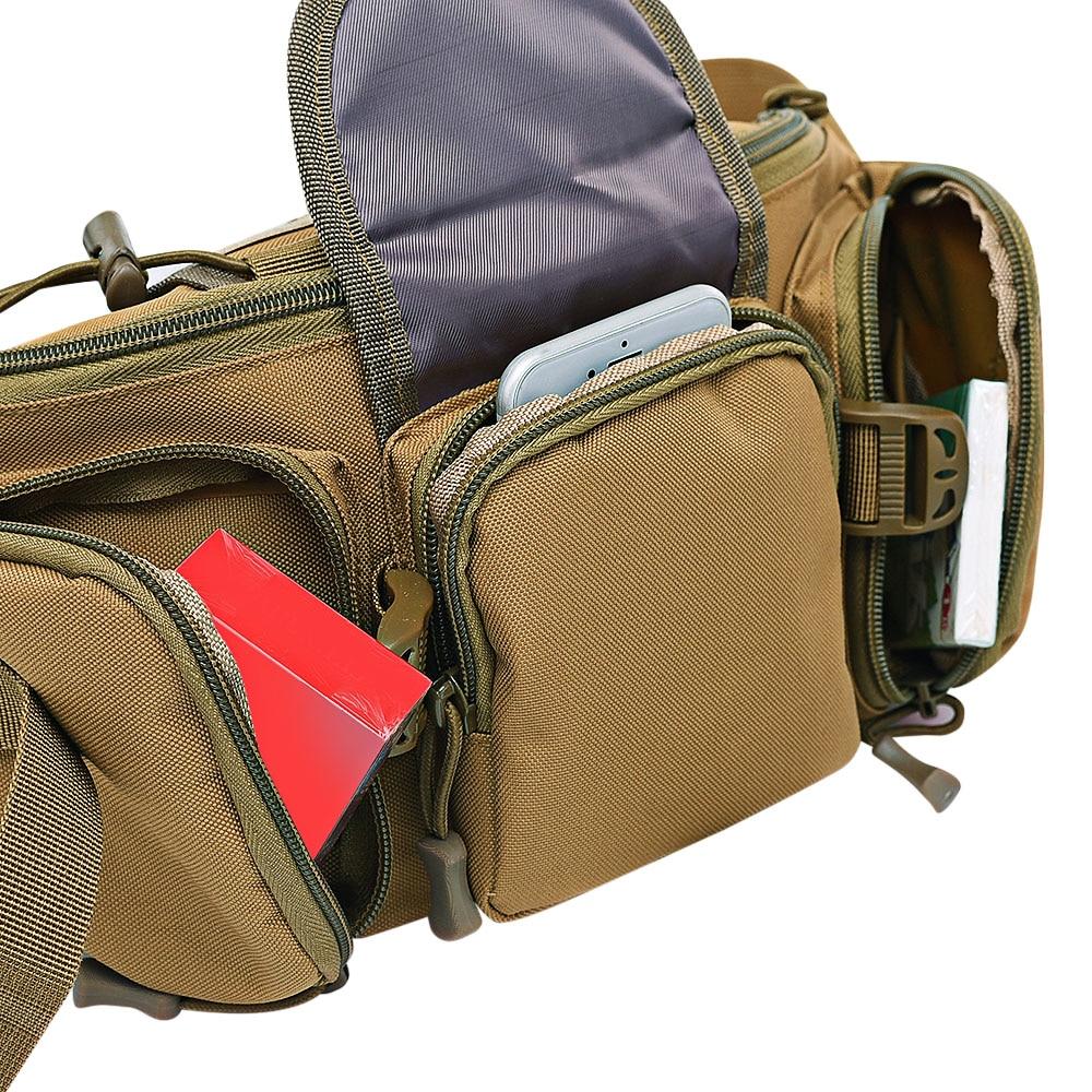 3-5L Tactical Waist Bag Molle Waterproof Waist Fanny Pack Hiking Fishing Sports