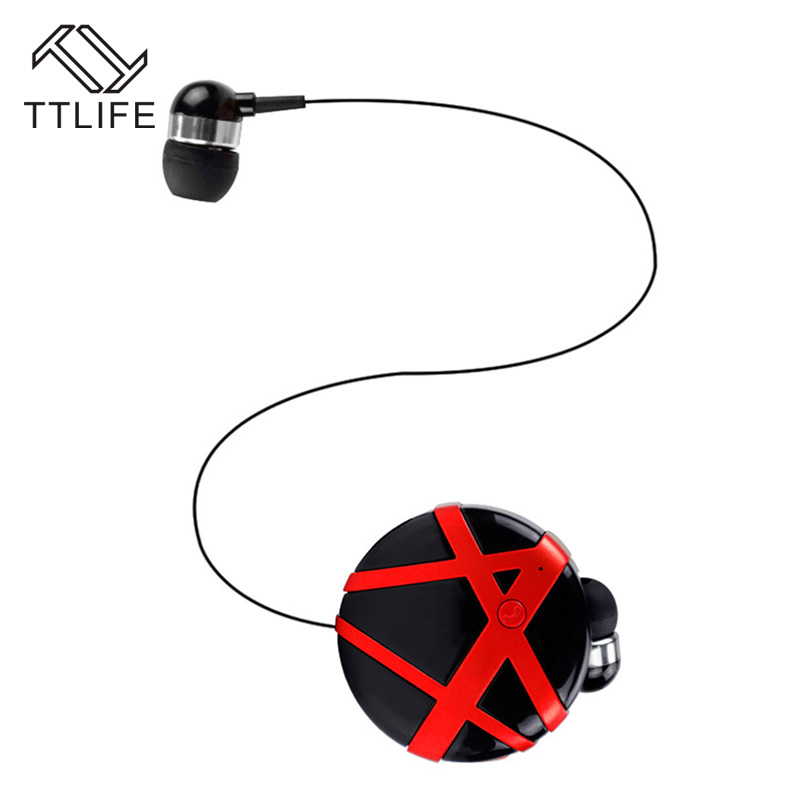 328 Sale TTLIFE Noise Cancellation Bluetooth 4.0 Earphone One Drag Two Sports Wireless Headphone Sweatproof Headset for Phones hot sale ttlife smart bluetooth 4 1 earphone upgraded wireless sports headphone portable handfree headset with mic for phones