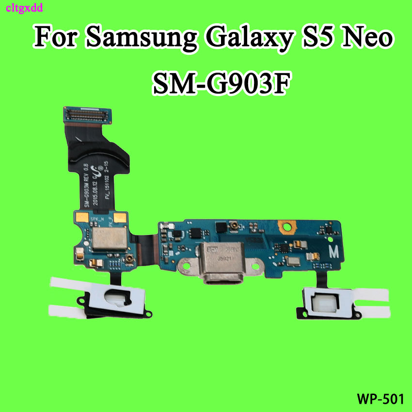 cltgxdd For Samsung Galaxy S5 Neo SM-G903F G903F USB Charger Connector Port Charging Port Flex Cable(China)
