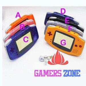 Image 3 - การเปลี่ยนชิ้นส่วนอะไหล่เปลือกสำหรับ Nintendo Game Boy Advance GBA สีฟ้าใส