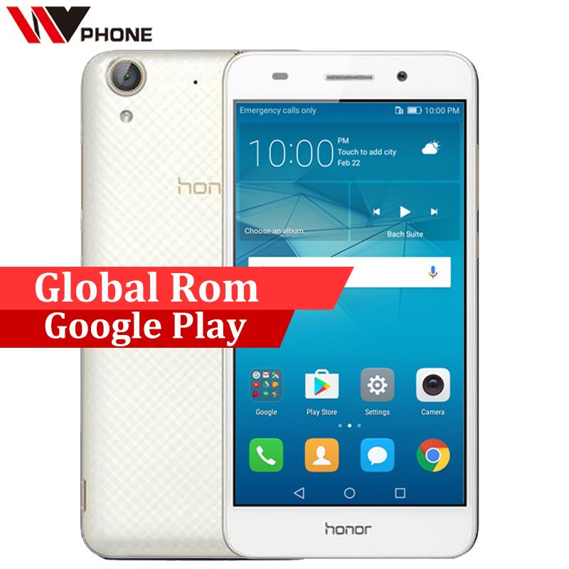 Official Global Rom Huawei Honor 5A 2G 16G 5.5 inch Mobile Phone Octa Core 13.0mp Rear Camera Android 6.0 IPS 1280X720