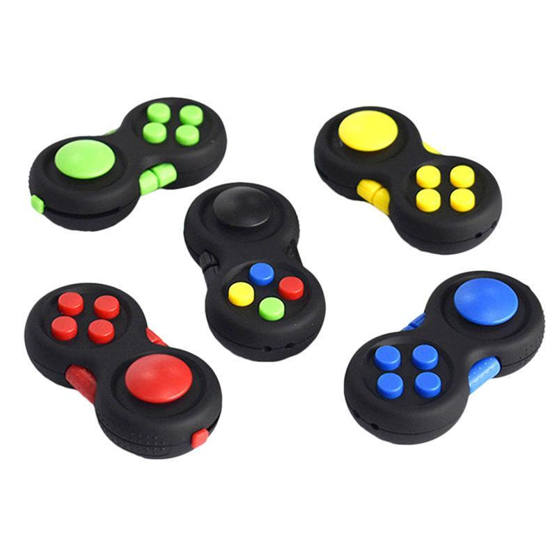 Original Fidget Pad Game Handle Toys Plastic Reliever Stress Hand  Intellectual Puzzle Vent Decompression Gift Free Shipping