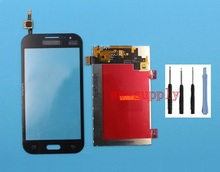 Top Front Touch Screen Digitizer + LCD Display for Samsung Galaxy Core Prime SM-G360F G3608 + Sticker+Tools