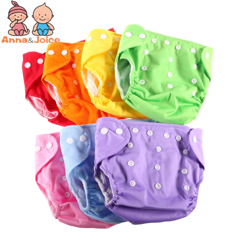 30pcs/lot Newborn Baby Cloth Wrap Shape Reusable  Diapers Infant  Baby Adjustable Washable Nappies Kids Training  Pants