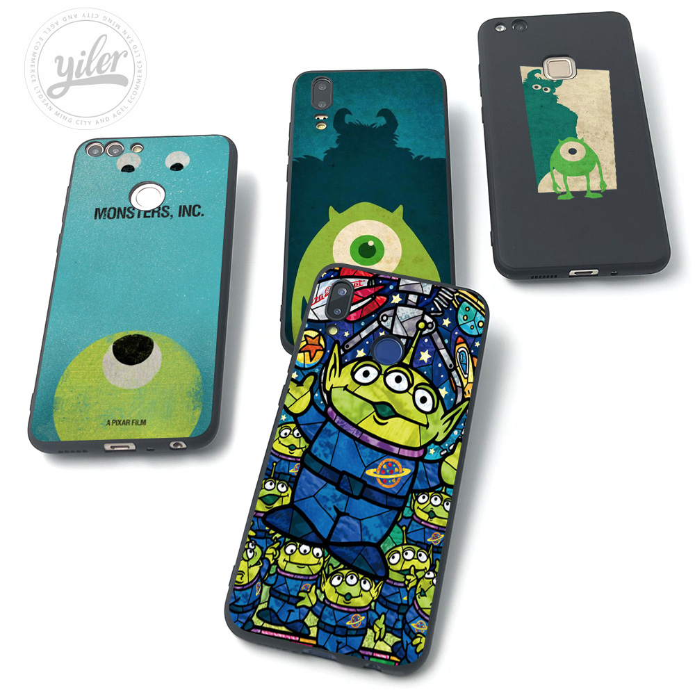 MONSTERS For Huawei NOVA 3 Cases for P20 lite Case P Smart P30 P9 P10 Plus Pro 3i