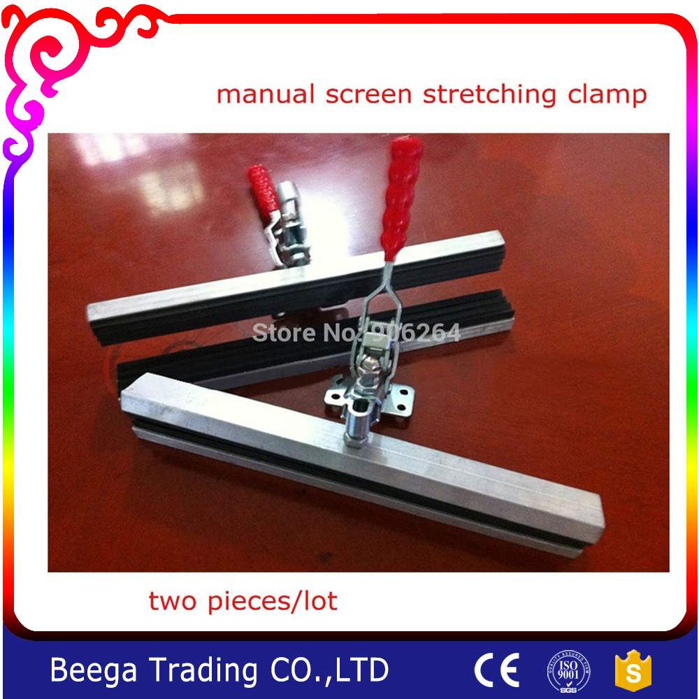 2 pcs Screen Printing Stretch Clamp Screen Stretcher Easy Use Fast Delivery Screen Printing Strecher easy fast fixture fast fixture clamp bolt clamps y40371 40371