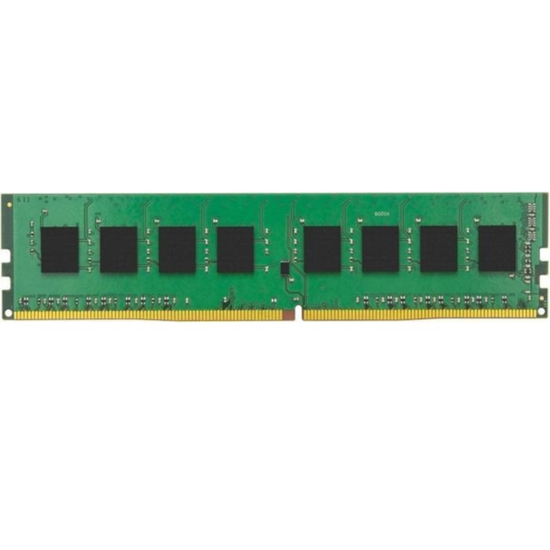Kingston Technology ValueRAM KVR24N17S6/4, 4 GB, 1x4 GB, DDR4, 2400 MHz, DIMM 288 broches, nègre, Verde