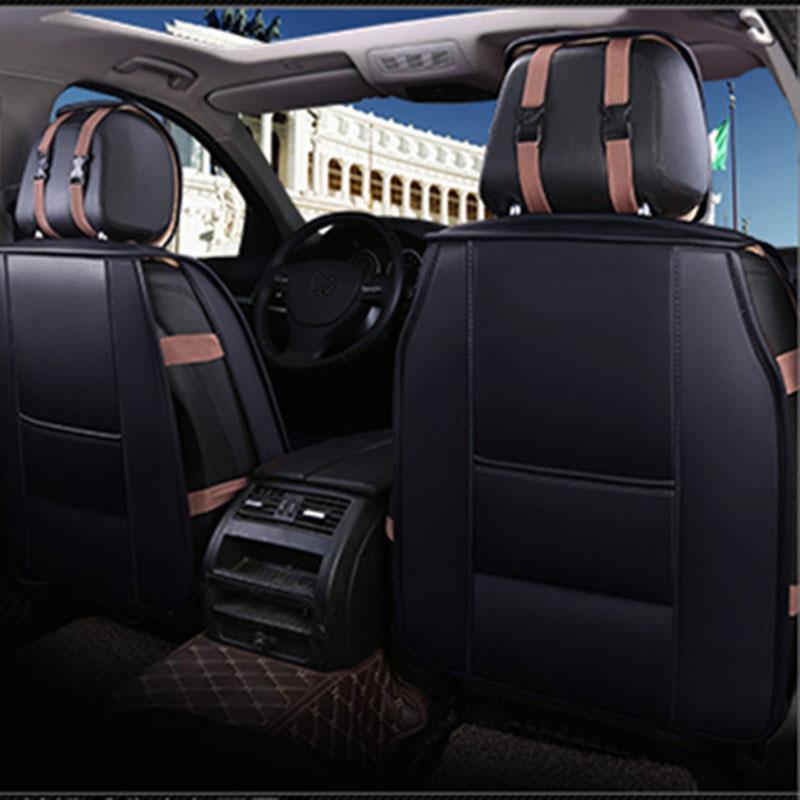 Leather car seat cover auto seats covers for ford mk7 ranger s-max c-max galaxy matiz nexia explorer5 fusion 2005 2004 2003 2002