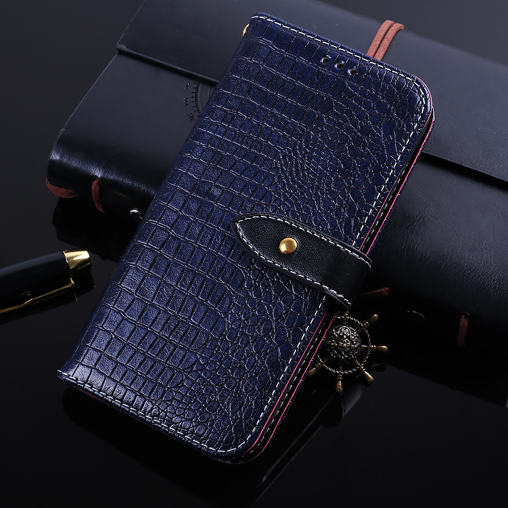 Luxury Crocodile Wallet Leather Coque Case For HTC U12 life Flip Cover Cases fundas for HTC U12 Life