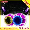 3 0 Inch 35W Car H1 H4 H7 Bi Xenon Projector Lens External Lights Day Light