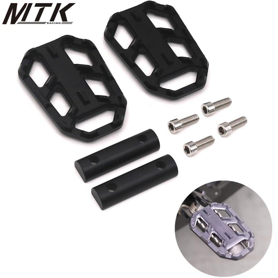 Für BMW G310GS 2017-2018 R1200GS 2004-2010 S1000XR 2015-2017 Motorrad zubehör billet MX breite pedal pedal rest pedal