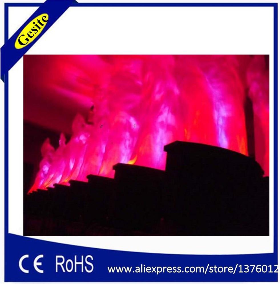 Անվճար առաքում 2 մետր կարմիր և սպիտակ - Կոմերցիոն լուսավորություն - Լուսանկար 4