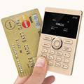 AIEK/AEKU E1 Ultra Thin Russian English Arabic Keyboard Mini Card Low Radiation Single Unlocked Mobile Phone