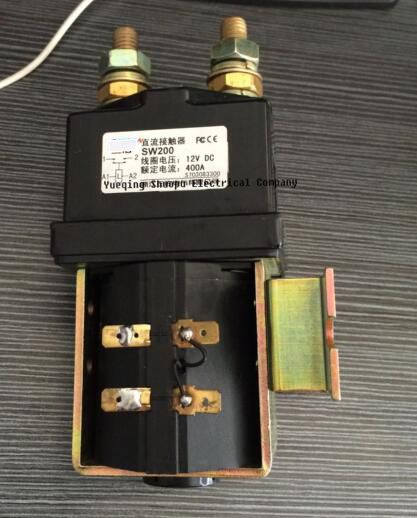 have certificate in high quality SW200 ZJW400A normally open 400A DC Contactor dc contactor for electrical