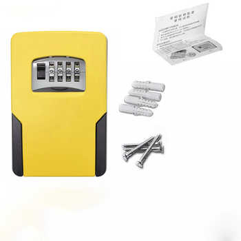 Key Safe Box Password Lock Key Safes Big Space For Outdoor Company