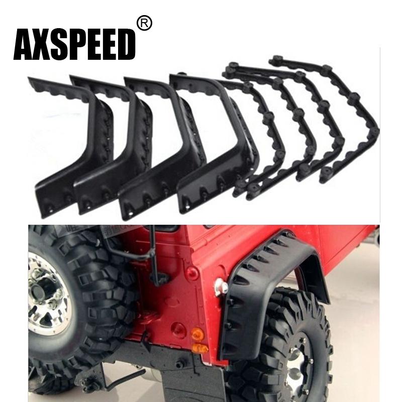 RC Crawler Fender Flares for Axial SCX10 RC4WD Gelande II D90 D110 Shell