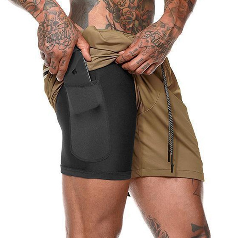 Man Quick Dry Beach Trunks Casual Lining Swimming Shorts Beachwear Solid Pocket Swimsuit Elastic Band XXL Swimwear Trunks Male