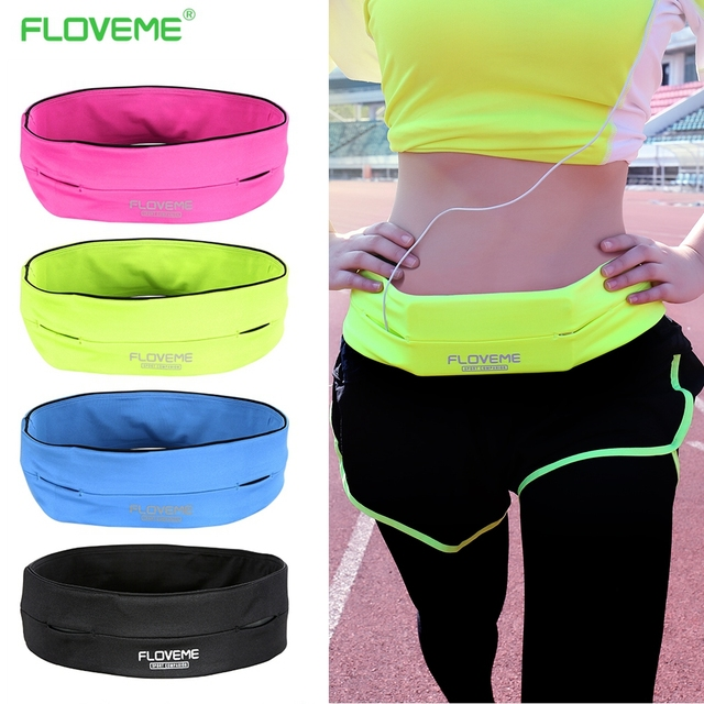 FLOVEME Universal Sport GYM Waist Bag Phone Case For Samsung Galaxy S3 S4 S5 S6 Edge iPhone 7 6s Outdoor Workout Running Pouch