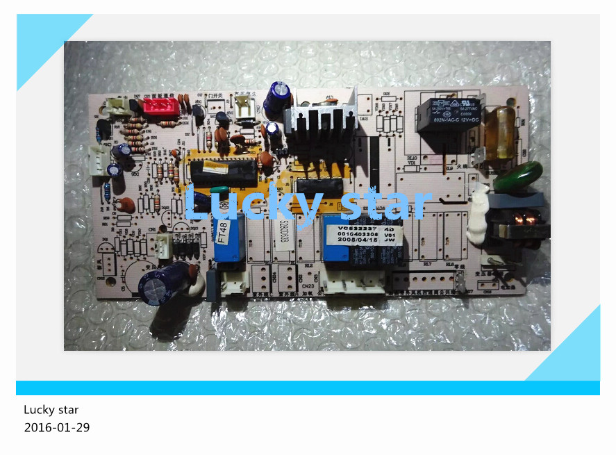 95% new for Haier Air conditioning computer board circuit board KF-71LW/Z 0010403308 good working 95% new for haier refrigerator computer board circuit board bcd 198k 0064000619 driver board good working