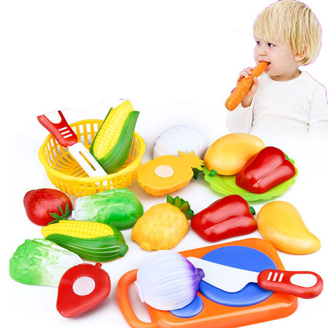 US $6.99 |12Pcs/Set Classic Kitchen Toys Simulation of Fruit Desperately  Cut Fruits Toy Children Kitchen Playsets-in Kitchen Toys from Toys &  Hobbies ...