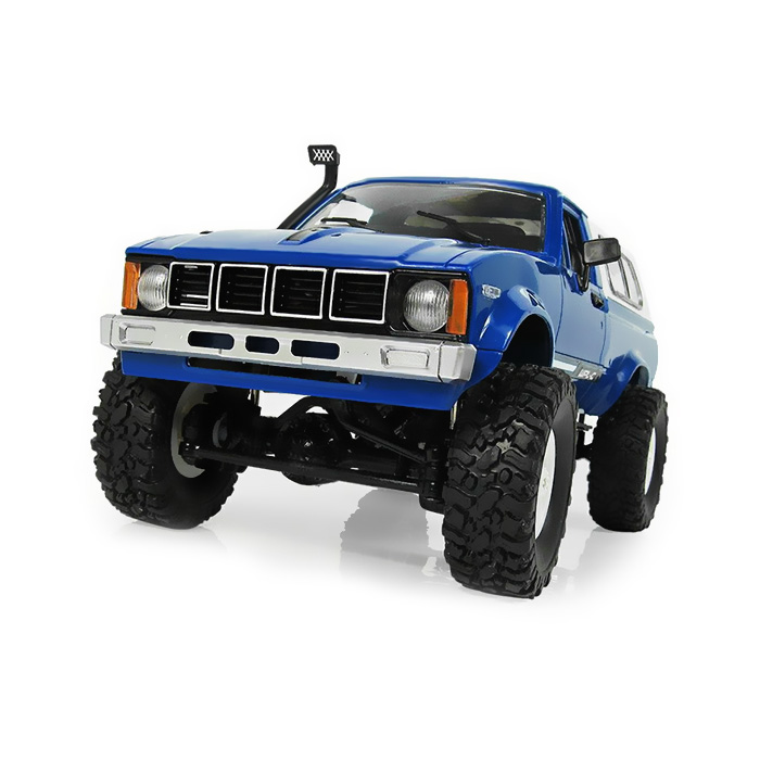 WPL RC Car 1/16 4WD 2.4G 2CH Military Buggy Remote Control Crawler Off Road RC Car Radio Control Off-Road Mini Car Rock Craw wpl c 24 1 16 4wd 2 4g military truck buggy crawler off road rc car 2ch rtr toy kit without electric parts diy rc model blue red