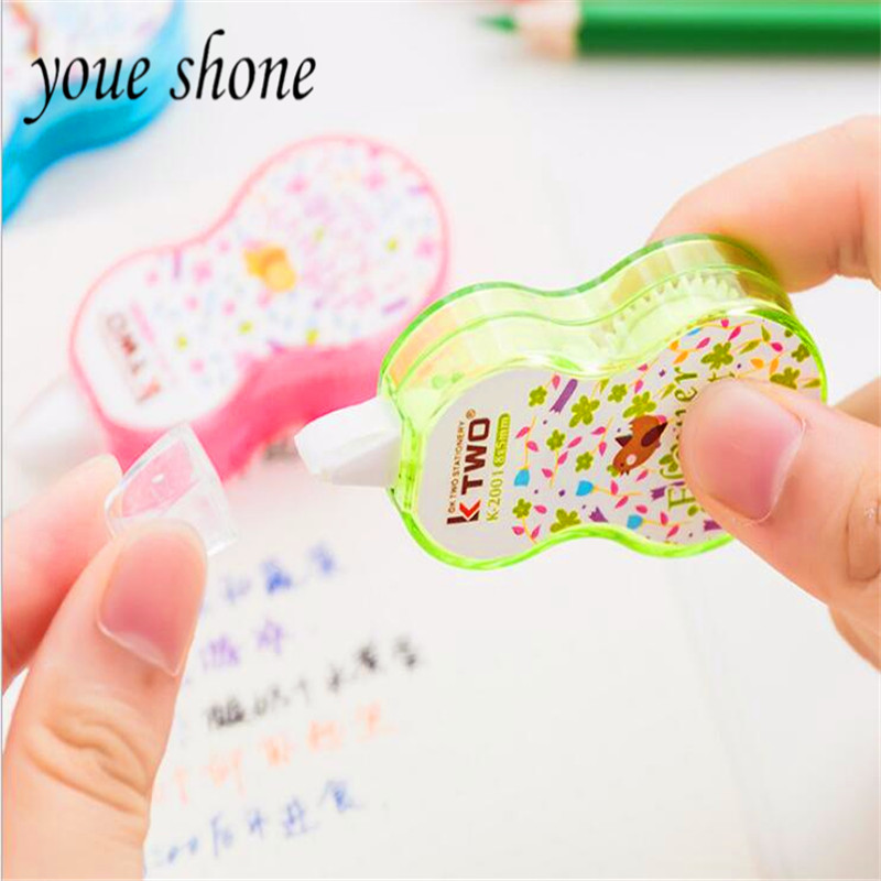 Youe Shone 1pcs Cartoon Small Floral Correction Belt Office Learning Stationery Student Supplies For School Office Supplies Cute