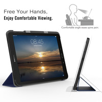 screen film Ultra Slim Lightweight Smart-shell Stand Cover Case For Samsung Galaxy Tab S3 9.7 Inch (SM-T820 / T825) +Stylus +Screen Film (2)