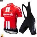 Sunweb красные велосипедные наборы 2019 одежда для велоспорта горная Ropa Ciclismo форма летняя велосипедная Джерси Мужская одежда для велогонок