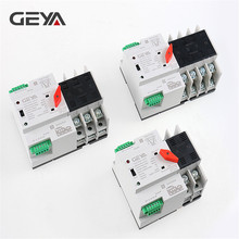 Free Shipping GEYA Din Rail 220V PC Automatic Transfer Switch 63A 100A Household Power Transfer Switch 50/60Hz цена и фото