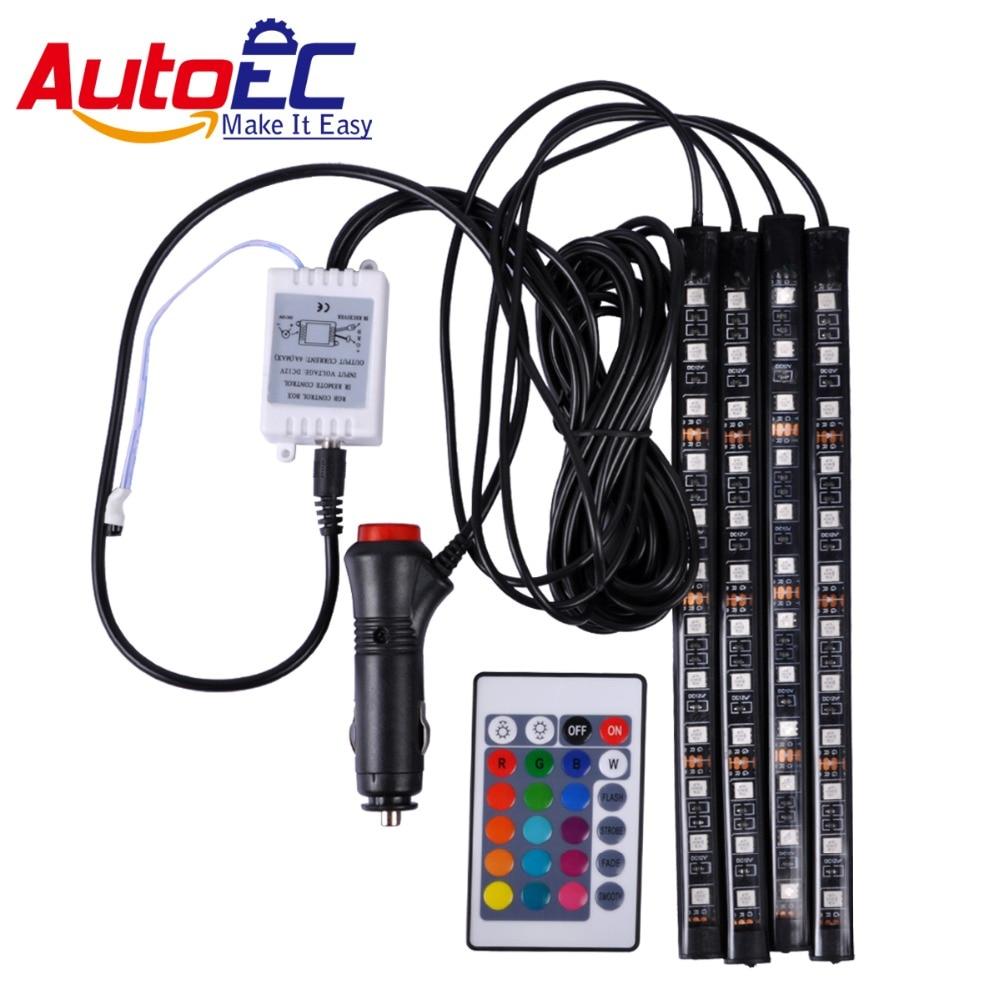"""""""AutoEC"""" automobilio salono LED juostos atmosfera """"Light 12SMD - Automobilių žibintai"""