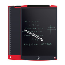 12 Inch LCD Writing Tablet Digital Drawing Tablet Handwriting Pads Portable Electronic Tablet Board ultra-thin Boogie Board(China (Mainland))