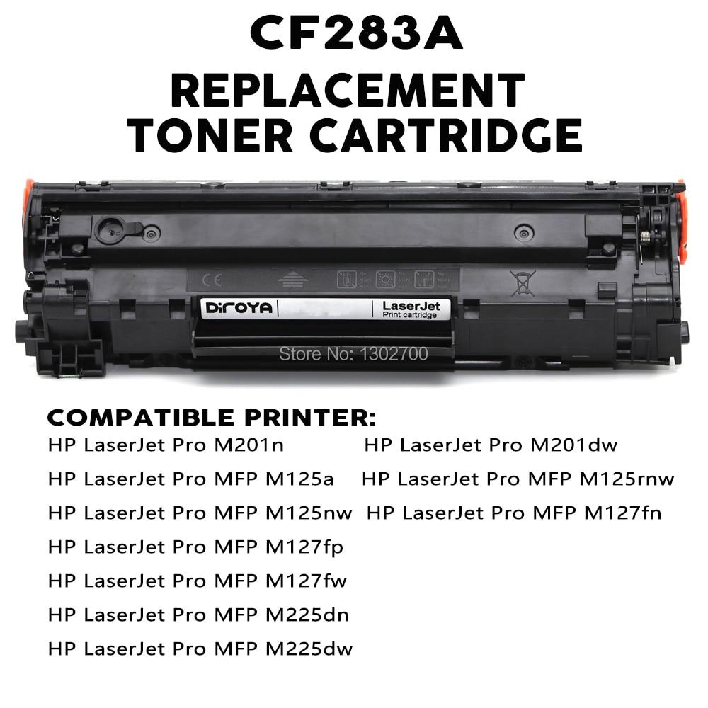 CF283A 83A CF 283A CF283 283 A toner cartridge for HP M125 M201 127 M127fn  M127fw M225dn M225 M225dw M225rdn M201dw M201n powder