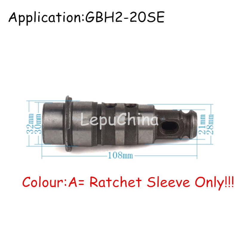 High Quality The Ratchet Sleeve ,Key Less Tool Holder  Replacement For BOSCH GBH2-20SE GBH 2-20SE