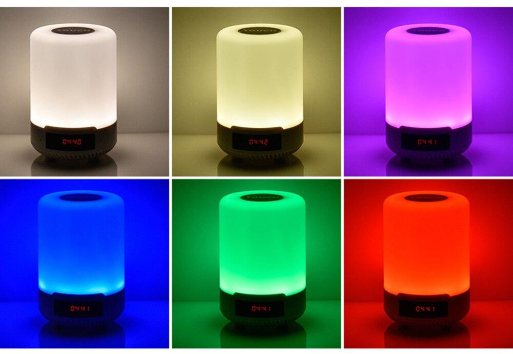 Bluetooth Speaker Sem Fio pode definir um alarme