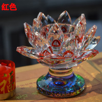 Wholesale 36pcs Lot Red Crystal Votive Candle Holder Tealight