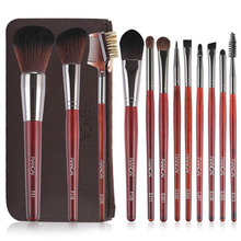 12pcs  Professional Makeup Brushes Set High Quality Make Up Powder Foundation Eyeshadow Synthetic Tool Kit